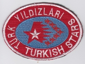 Turkish Air Force Display Patch TUAF Turkish Stars Display Team
