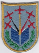 Belgium Air Force Patch BAF Display Diables Rouges Magister