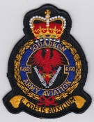 Army Air Corps AAC Sqn Patch 660 Squadron Crest 1997 Black Mid