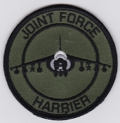 RAF Patch a 1 Fighter Squadron Royal Air Force Harrier GR 7 JF b