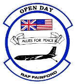 USAF Sticker Patch Air Refueling USAFE 11 Strategic Gp Open Day