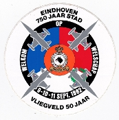 RNLAF Sticker Patch AB Netherlands Vliegveld Air Base 50th 1982