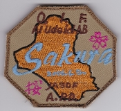 JASDF Patch HQ Japan Air Self Defence Force APD Al Udeid AB OIF
