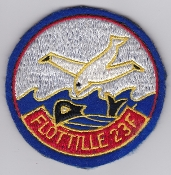 French Naval Aviation Aeronavale Patch 23 F Flotille Atlantique