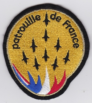 French Air Force ALA Patch Display Patrouille De France