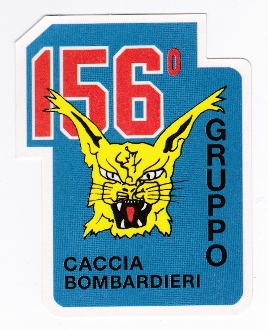 Italian Sticker Patch Air Force Aeronautica Militare AM Grpo 156