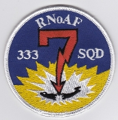 RNoAF Patch Royal Norwegian Air Force 333 Skv Squadron P 3 ASW 7