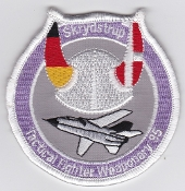 RDAF Patch Royal Danish Air Force 730 Esk Squadron TFW 1995