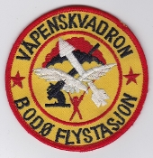 RNoAF Patch Royal Norwegian Air Force Vapen Weapons Sqn Bodo