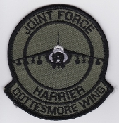 RAF Patch a 1 Fighter Squadron Royal Air Force Harrier GR 7 JF c