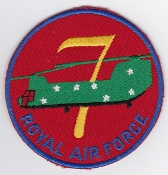 RAF Patch a 7 Squadron Royal Air Force Chinook HC 1 SF Flt a