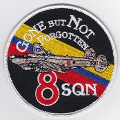 RAF Patch a 8 Squadron Royal Air Force AEW Shackleton Ret 1991