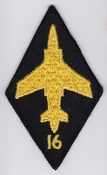 RAF Patch j 16 Squadron Royal Air Force Buccaneer S 2B Strike 79