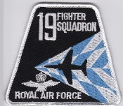 RAF Patch j 19 Squadron Royal Air Force Fighter Hawk T1 4 FTS