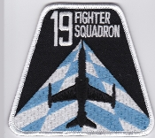 RAF Patch j 19 Squadron Royal Air Force Fighter Hawk T2 4 FTS