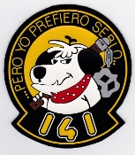 Spanish Patch Air Force Ejercito Del Aire 141 Escuadron Mirage F