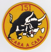 Spanish Patch Air Force Ejercito Del Aire 151 Escuadron Hornet