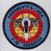 Spanish Patch Air Force Ejercito Del Aire Ala 15 Wing Hornet