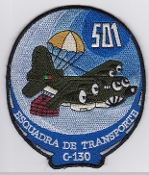 Portuguese Air Force Patch Forca Aerea Portuguesa FAP 501 Sqn