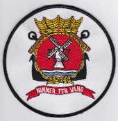 RNLNAS Patch Netherlands Naval Aviation 7 Squadron Crest Lynx L