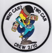 RAAF Patch Sqn Royal Australian Air Force b 10 Squadron Crew 2