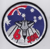 RAAF Patch Sqn Royal Australian Air Force 6 Squadron Ops 1990s