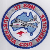 RAAF Patch Sqn Royal Australian Air Force b 37 Squadron C 130 b