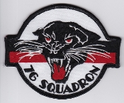 RAAF Patch Sqn Royal Australian Air Force b 76 Squadron Ops 90s
