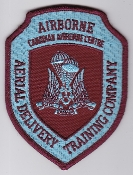 Canadian Airborne 80s Patch Aerial Delivery Training Company CAC