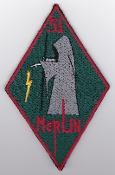 RAF Patch j 51 Squadron Royal Air Force Op Telic 2003 Merlin