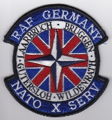 RAF Patch j 60 Squadron Royal Air Force Andover GC Berlin Recce
