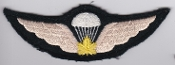Canadian Airborne Patch Parachute Qualification Wing 1 WWII