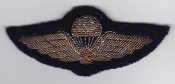 Canadian Airborne Patch Parachute Wing Bullion 1 WWII