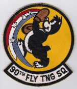 USAF Patch Tng Foreign 90 FTS Flying Training Squadron ENJJPT