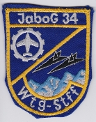 German Air Force Patch 34 Jabog F 104 Starfighter Tech Gp Wtg