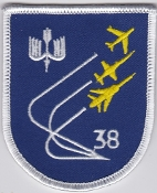 German Air Force Patch 38 Jabog Tornado IDS Jever 1 a