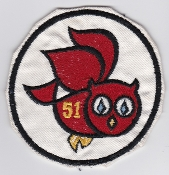 German Air Force Patch 51 AG Reconnaissance F 104 Starfighter a