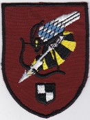 German Army Aviation Patch 26 Regiment Anti Tank BO 105