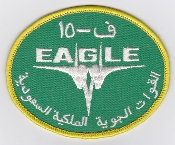 RSAF Patch da Sqn Royal Saudi Air Force 6 Squadron F 15C Eagle c