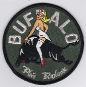French Army Aviation ALAT Patch 5 RHC Regt EHM 1 Buffalo SFOR