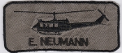 German Army Aviation Patch 10 Regiment Airmobile Huey UH 1D Name