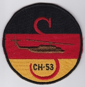 German Army Aviation Patch 25 Regiment Heeresflieger CH 53