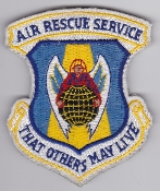 USAF Patch Rescue ARS Air Service HH 60 Pave Hawk Combat King
