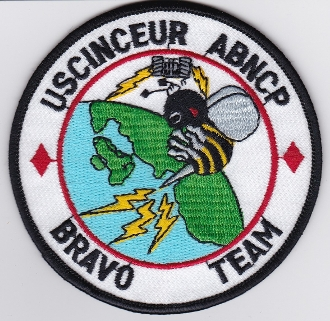 USAF Patch Cmd USAFE 10 ACCS USCINCEUR Battle Staff B Team