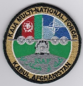 Air Force Patch NATO KAIA ISAF Multinational Force Afghanistan
