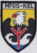 German Navy Patch Marinefliegergeschwader MFG 5 Kiel SAR Rescue