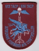 British Army FAC Patch Forward Air Control 613 614 TACP Airborne