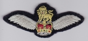 Army Air Corps AAC Patch Pilot Qualification Wing 1