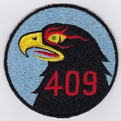 RCAF Patch Sqn Royal Canadian Air Force 409 AWF Squadron F 101 a