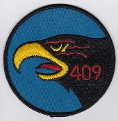 RCAF Patch Sqn Royal Canadian Air Force 409 AWF Squadron F 101 c
